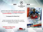 2019-20 Topps Finest UEFA Champions League Soccer Sealed Hobby Box Preorder 2 19