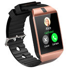 Gold DZ09 Smartwatch Smart Watch GSM SIM Camera for Android IOS Phone Mate