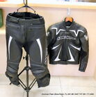 Wolf Racing Two Piece Motorcycle Leather Suit EU 52 UK 42 32 Waist