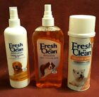 3 Fresh N Clean Dog Grooming Products
