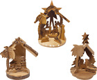 Holy Land 3D Nativity Scene Grotto Ornament Value Pack of all 3