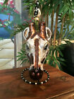 Slavic Treasures Retired Glass Ornament Large Giraffe 1999