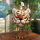 Slavic Treasures Retired Glass Ornament Large Tiger 1999