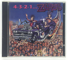 The Zeros 4-3-2-1... (1991, Restless, CD) SAMMY SERIOUS JOE NORMAL MR INSANE