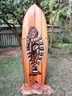 Halibut Fish  Octopus Glass On 60 Surfboard Twin Fin