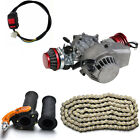 2 Stroke HP 50cc 49cc Motor Engine Kit fr Mini Moto Rocket Pocket Bike Scooter