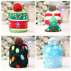 Kids Baby Boys Bonnet Warm Gifts Holiday Casual Headwear Beanie Knitted Hat Cap