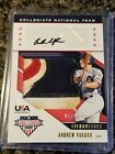 2019 STARS  STRIPES ANDREW VAUGHN USA PATCH AUTO 25AWESOME
