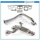 Stainless Manifold Header w/ Downpipe For 1991-1995 Jeep Wrangler YJ 2.5L L4 OHV