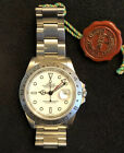 Rolex Explorer II Stainless Steel White Dial Mens 40mm Automatic Watch 16570