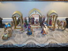 Hawthorne Village Jeweled Heavens Radiant Glory Nativity 23 Pieces Very Rare