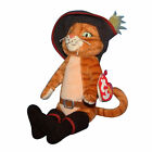Ty Beanie Baby Puss in boots - MWMT (Cat Shrek DVD Exclusive)