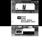 JBL SE400S & SE408S ENERGIZER POWER AMPLIFIER SERVICE MANUAL