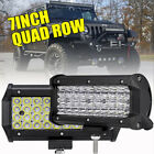 7inch 480W LED Work Light Bar SPOT Beam For Jeep Wrangler JK JL YJ TJ 1987 2019