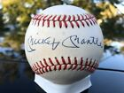mickey mantle signed ball