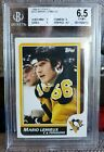 Mario Lemieux 1986-87 Topps #122 Graded BGS 6.5 EX-MT+ Pittsburgh Penguins