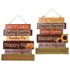 Fall Harvest Decor 2 Wooden Harvest Welcome Signs