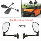 1 Pair Rear View Mirror Black For Mobility Scooters Motorcycle Accessories
