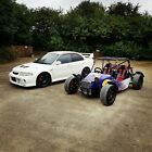 240 BHP HONDA CIVIC TYPE R K20 POWERED ROAD LEGAL BUGGY KITCAR TRACK HILL CLIMB