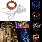 10M 100 Waterproof USB LED Fairy String Copper Wire HoliDay Light with Switch