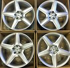19 NEW AMG MERCEDES BENZ S CLS S550 CLK E S OEM WHEELS RIMS SL SLS SET 4 2012 16