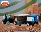 THOMAS & FRIENDS WOODEN RAILWAY ORIGINAL 2011 TOBY & BASH ON THE FARM LC99118