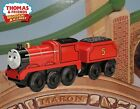 THOMAS & FRIENDS WOODEN RAILWAY ~ BATTERY OPERATED JAMES ~ ABSOLUTELY MINT!