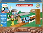 EXTREMELY RARE ~ Thomas & Friends Wooden Railway 60th Anniversary Set ~ MINT!