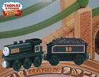 THOMAS & FRIENDS WOODEN RAILWAY ~ DOUGLAS ~ THE SCOTTISH TWIN~ 2001 RARE!