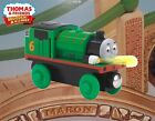 LIGHTS & SOUNDS PERCY ~ THOMAS & FRIENDS WOODEN RAILWAY ~ ABSOLUTELY MINT HTF!