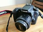 Canon EOS 70D 20.2MP Digital SLR Camera with Canon 18-200mm and Canon 50mm 1.8