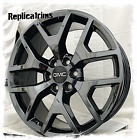20 black chrome PVD GMC Sierra Yukon Denali OE replica Y spoke 5656 rims 6x55