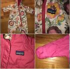 Infant Girl Floral Patagonia Reversible Puff Ball Snowsuit Newborn 0 3 Months
