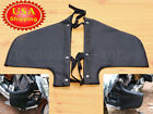 Black Engine Guard PU Leather Soft Lower Fairing Cover For Victory Vegas Kingpin