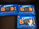 Halloween OREO Cookies BOO SPOOKY 5 Designs 20 oz Limited Edition 2019 lot of 3