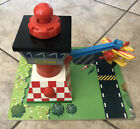 Learning Curve Wooden Thomas Train Sodor Airfield with Bi Plane Tiger Moth! VG