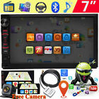 Bluetooth FM Player Stereo Radio Car 7 HD MP5 Android System+Free Back Camera