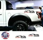 2 x Car Body Decal Sticker 4X4 Mountain SPORT Letter Vinyl For Truck JEEP Pickup