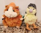 TY beanie babies WONDER PETS  LINNY MING-MING SET OF TWO .