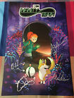 2019 SDCC Cartoon Network Infinity Train Poster Signed (4 Signatures)