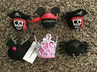 Lot of 6 Walt Disney World Car Antenna Toppers + Mickey Mouse Keychain All New