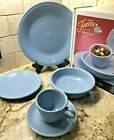 NIBFiesta Discontinued Retired Periwinkle Blue 5 Piece Place Setting 1st
