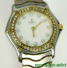 EBEL Classic Wave Diamond 18K Gold & Stainless Steel Two Tone Wristwatch 105790