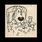 SICK DOG RUBBER STAMP Get Well Rubber Stamp Dog Stamp NEW