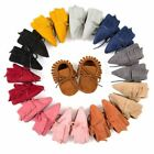 Baby Soft Sole Tassel Suede Shoes Infant Newborn Toddler Boy Girl Moccasin Shoes