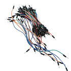 65pcs Mixed Color Solderless Breadboard Jumper Cable Dupont Wires
