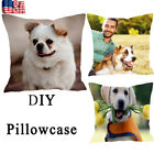 Pet Custom Pillow Case Personalised Printed Photo Cushion Cover 1818 Gift