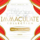 2019 Panini Immaculate Football Sealed Hobby Box (Multiple Available)