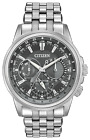 Citizen Calendrier Eco-Drive Dress Watch Mens Stainless Steel BU2021-51H NEW