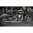 Trask Assault 2 Into 1 Stainless Exhaust for Harley FXR Models